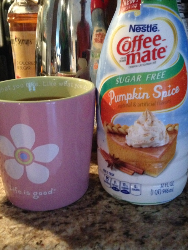 NEW ADDICTION: Coffee Mate Pumpkin Spice Creamer!
